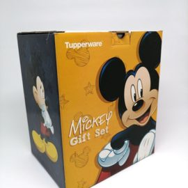 Cetak Kemasan Tuperware Mickey Gift Set